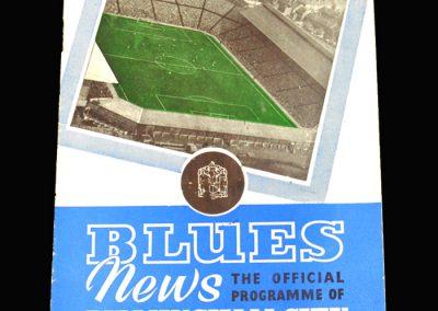 Birmingham v Wolves 12.10.1957