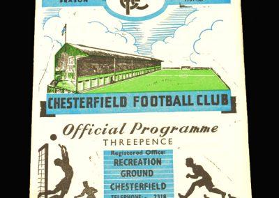 Chesterfield v Hull 09.11.1957