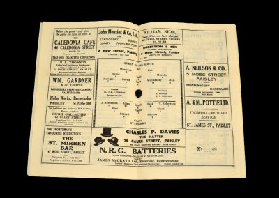 St Mirren v Queen of the South 21.12.1963
