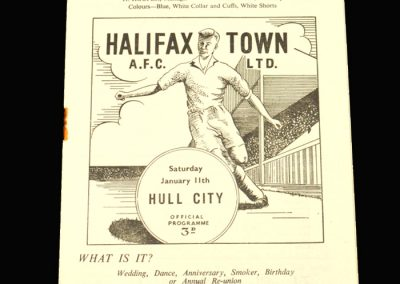 Halifax v Hull 11.01.1958