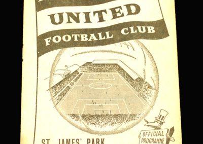 Newcastle v Burnley 08.02.1958