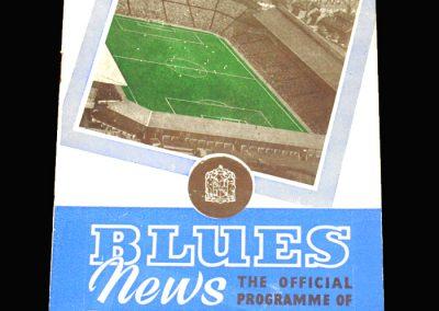 Birmingham v Arsenal 01.03.1958