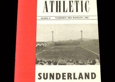 Sunderland v Charlton 28.08.1962