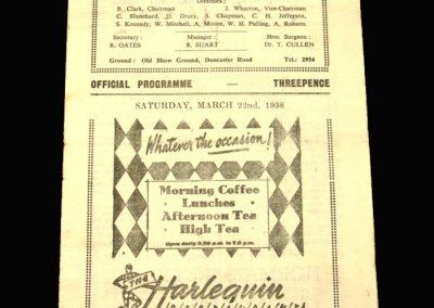 Scunthorpe v Accrington 22.03.1958