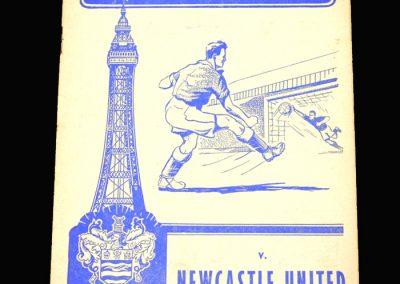 Blackpool v Newcastle 05.04.1958