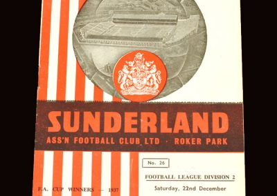 Sunderland v Leeds 22.12.1962