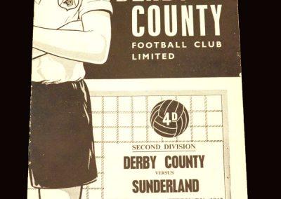 Sunderland v Derby 23.02.1963