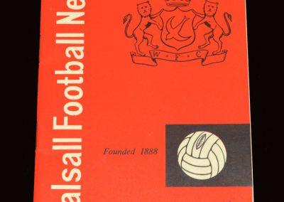 Sunderland v Walsall 09.03.1963