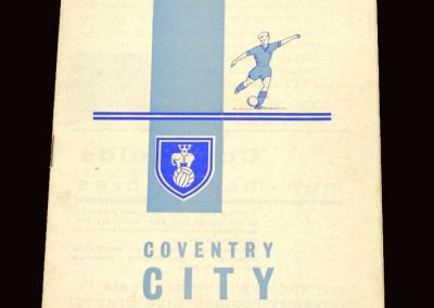 Sunderland v Coventry 25.03.1963 - FA Cup 5th Round
