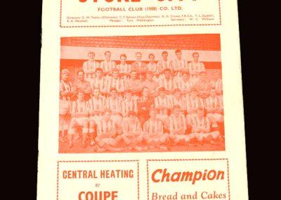 Sunderland v Stoke 15.04.1963
