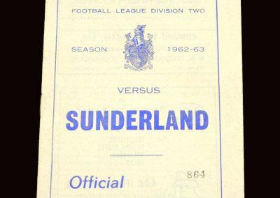 Sunderland v Scunthorpe 30.04.1963