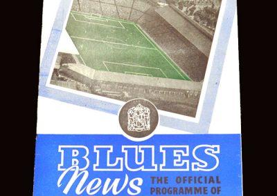 Wolves v Birmingham 22.08.1959