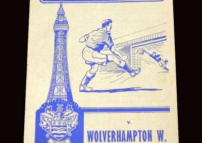 Wolves v Blackpool 19.09.1959