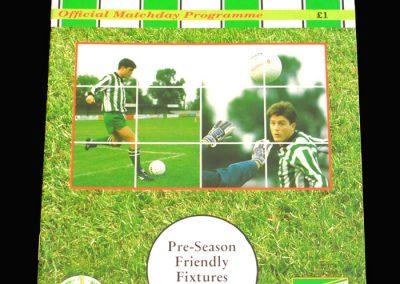Wycombe v Aylesbury 29.07.1993 (Friendly)
