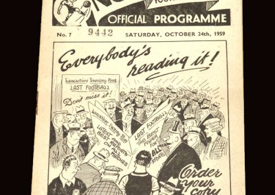 Wolves v Preston 24.10.1959