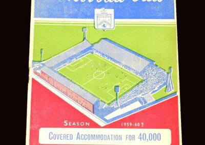 Wolves v Burnley 07.11.1959