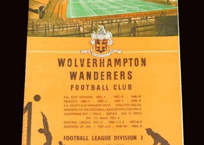Wolves v Chelsea 28.11.1959
