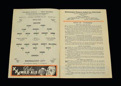 Wolves v Birmingham 19.12.1959