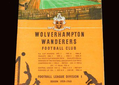 Wolves v Bolton 28.12.1959
