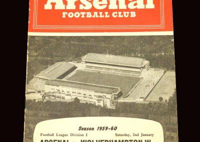 Wolves v Arsenal 02.01.1960