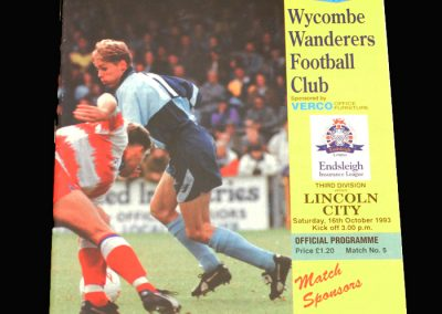 Wycombe v Lincoln 16.10.1993