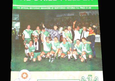 Wycombe v Northwich Victoria 26.10.1993 - The JC Thompson Shield