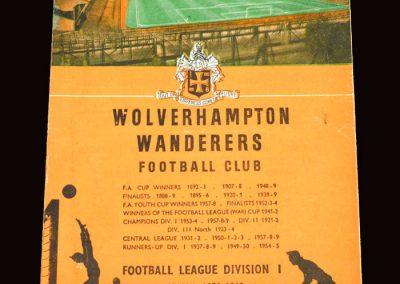 Wolves v Man City 16.01.1960