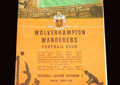 Wolves v Charlton 30.01.1960 - FA Cup 4th Round