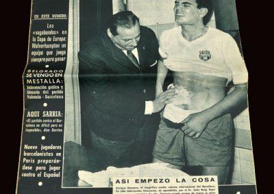 Wolves v Barcelona 10.02.1960 - European Cup Quarter Final 1st Leg