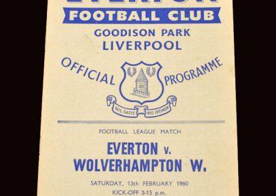 Wolves v Everton 13.02.1960