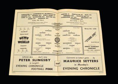 Wolves v Man Utd 05.03.1960