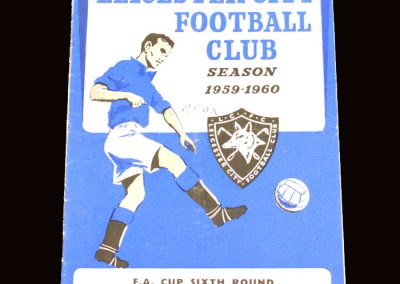 Wolves v Leicester 12.03.1960 - FA Cup 6th Round