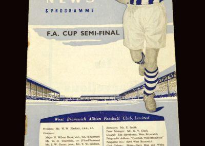 Wolves v Aston Villa 26.03.1960 - FA Cup Semi Final (at West Brom)