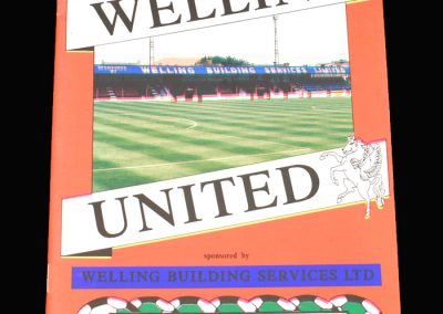 Wycombe v Welling 20.10.1992