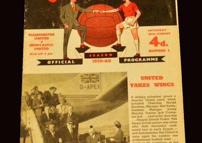 Man Utd v Newcastle 29.08.1959