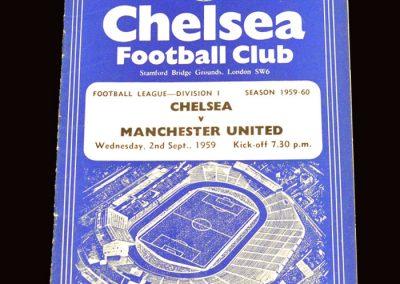 Man Utd v Chelsea 02.09.1959