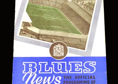 Man Utd v Birmingham 05.09.1959