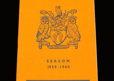 Man Utd v Leeds 16.09.1959