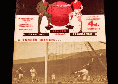Man Utd v Sheff Wed 24.10.1959