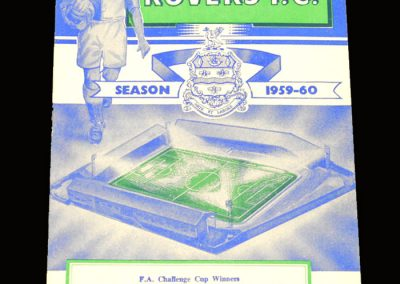 Man Utd v Blackburn 31.10.1959
