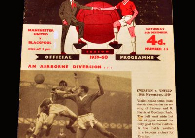 Man Utd v Blackpool 05.12.1959