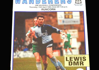 Wycombe v Runcorn 15.04.1993