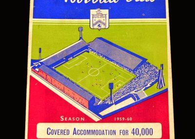 Man Utd v Burnley 28.12.1959