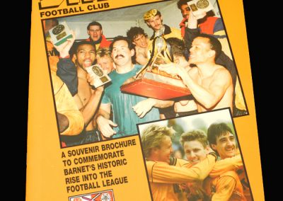 Barnet Promotion Souvenir 1991