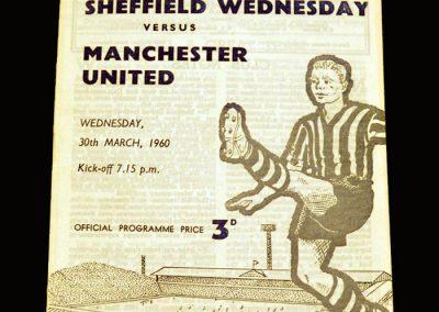 Man Utd v Sheff Wed 30.03.1960