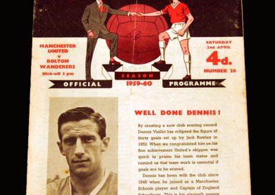 Man Utd v Bolton 02.04.1960