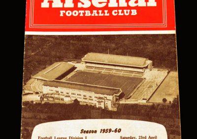 Man Utd v Arsenal 23.04.1960