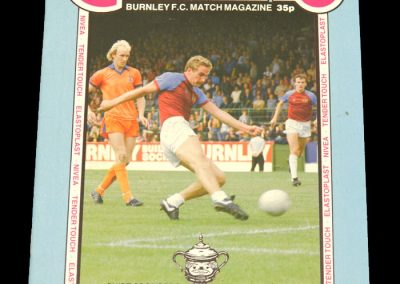 Middlesbrough v Burnley 03.01.1983