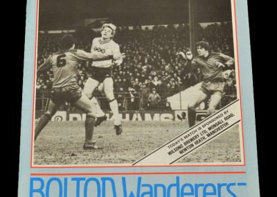 Middlesbrough v Bolton 26.02.1983