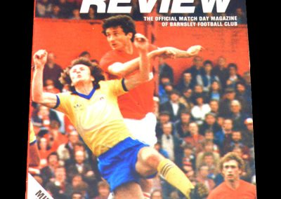 Middlesbrough v Barnsley 19.03.1983